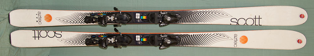 Scott-Aztec-skis-occasion
