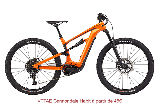 VTTAE Cannondale habit orange