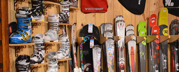 vente-ski intersport la godille